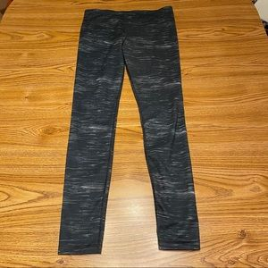 Under Armour Gray Heathered Leggings Size M